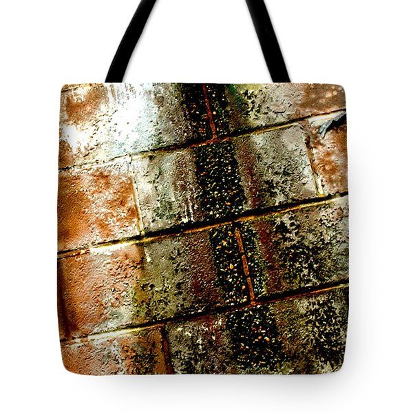 Tote Bag featuring the photograph Acid Rain by Christiane Hellner-OBrien