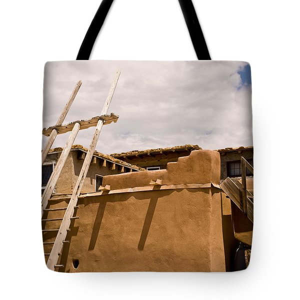 Acoma Building Tote Bag