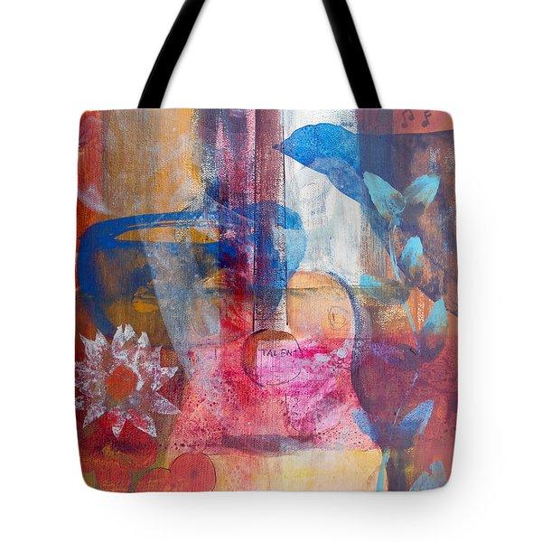 Acoustic Cafe Tote Bag