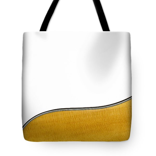 Tote Bag featuring the photograph Acoustic Curve by Bob Orsillo