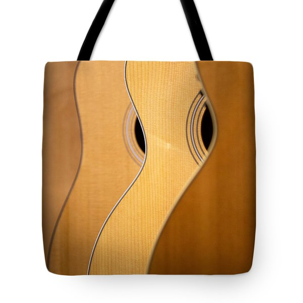 Tote Bag featuring the photograph Acoustic Design by John Rivera