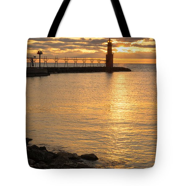 Across The Harbor Tote Bag by Bill Pevlor