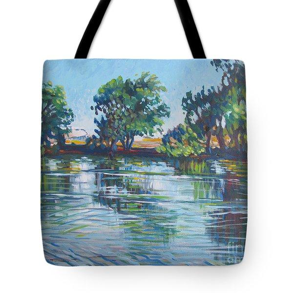 across the Joan Darrah Promenade Tote Bag by Vanessa Hadady BFA MA