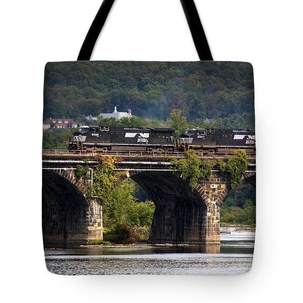Across The Rockville Tote Bag by Paul W Faust -  Impressions of Light