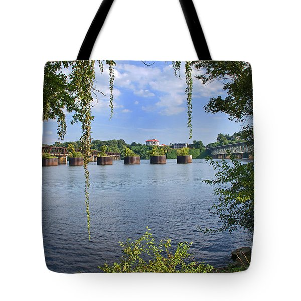 Across The Tennessee Tote Bag