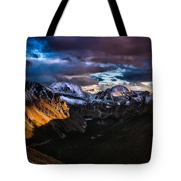 Across The Valley Tote Bag