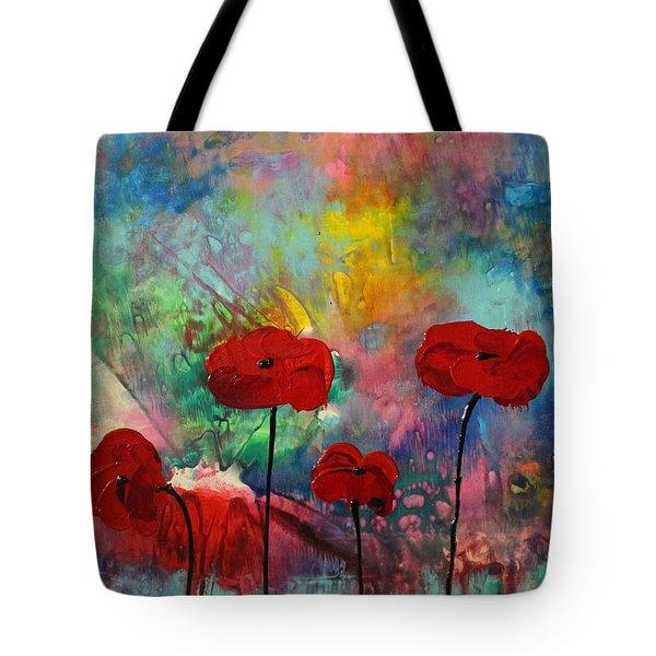 Acrylic Msc 078 Tote Bag by Mario Sergio Calzi