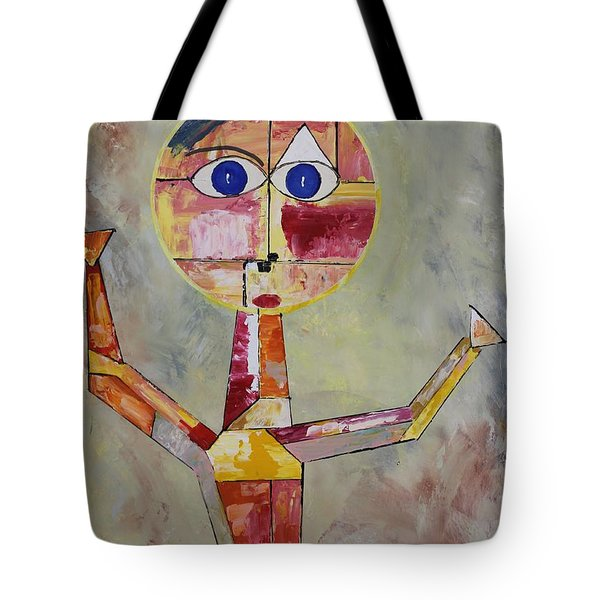 Acrylic Msc 175  Tote Bag by Mario Sergio Calzi