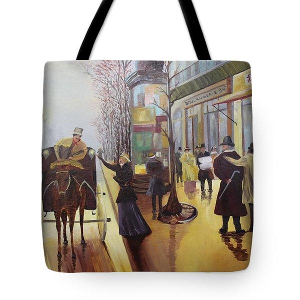 Acrylic Msc 178  Tote Bag by Mario Sergio Calzi