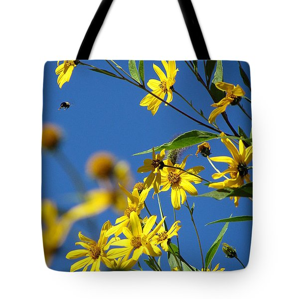 Tote Bag featuring the photograph Action by France Laliberte