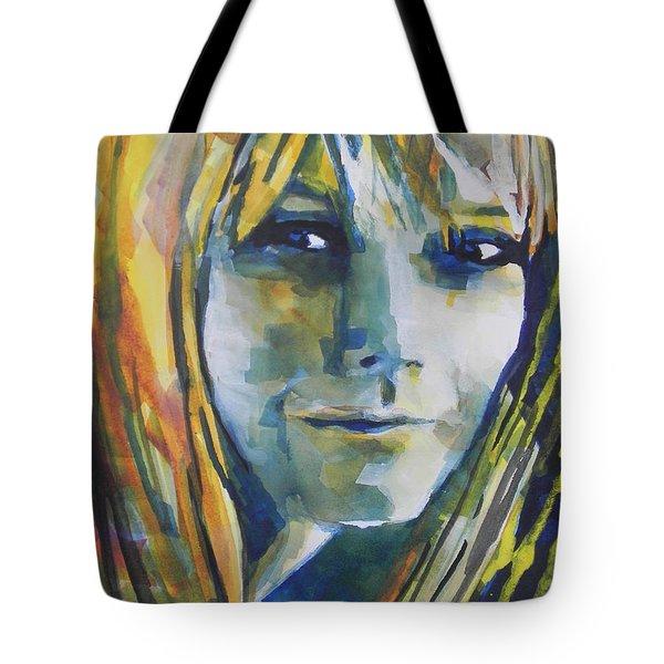 Actress Gwyneth Paltrow Tote Bag by Chrisann Ellis