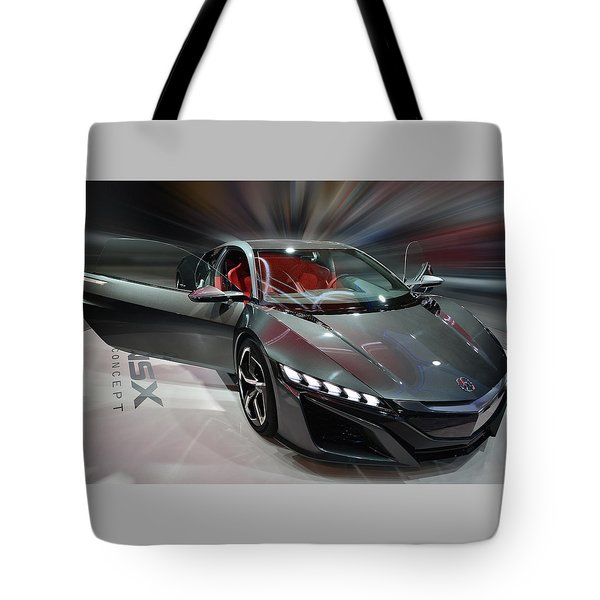 Acura Nsx Concept 2013 Tote Bag