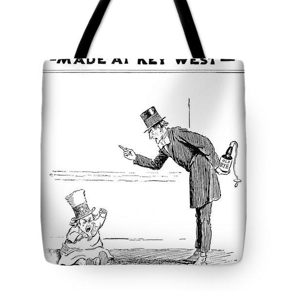 Ad Cortez Cigars, 1919 Tote Bag