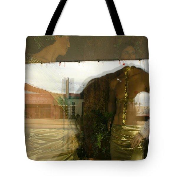 Ada Window Tote Bag by Suzanne Lorenz