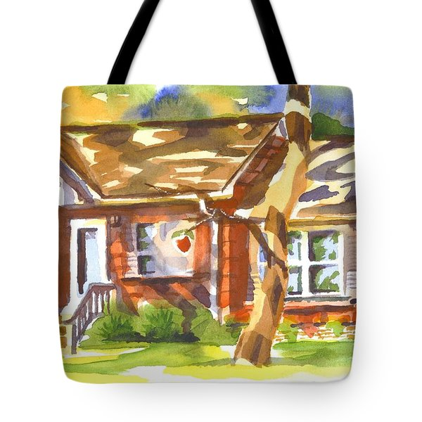 Adams Home Tote Bag by Kip DeVore