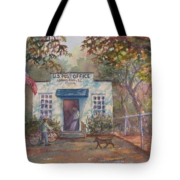 Adams Run Post Office Tote Bag