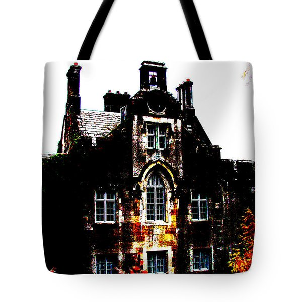 Tote Bag featuring the photograph Adare Manor by Charlie and Norma Brock