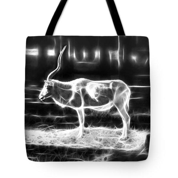 Addax Spirit Of The Desert Tote Bag by Miroslava Jurcik