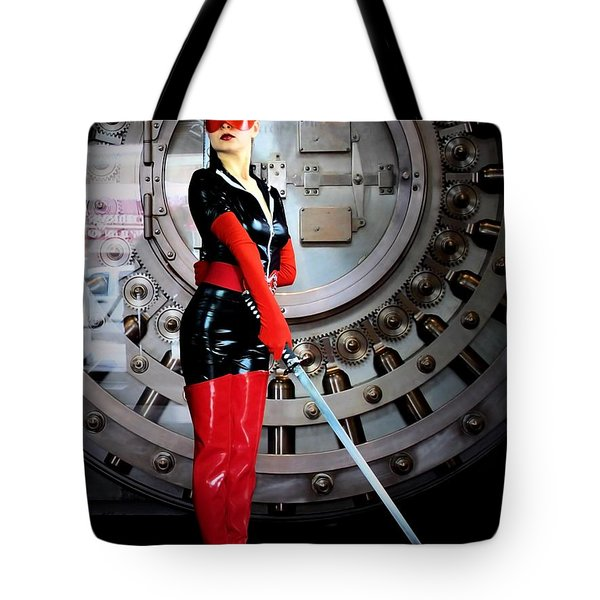 Added Security Tote Bag