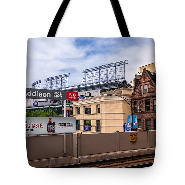 Addison Street Station Tote Bag