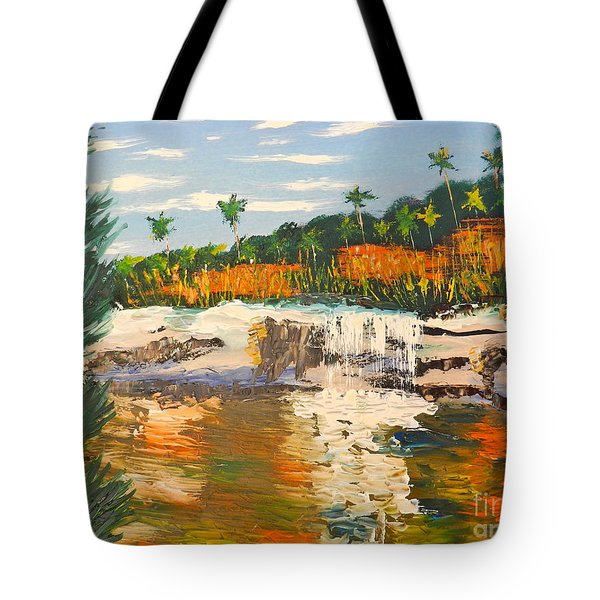 Adele Gorge At Lawn Hill National Park Tote Bag