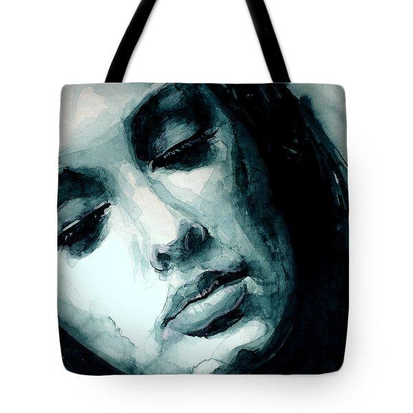 Adele In Watercolor Tote Bag