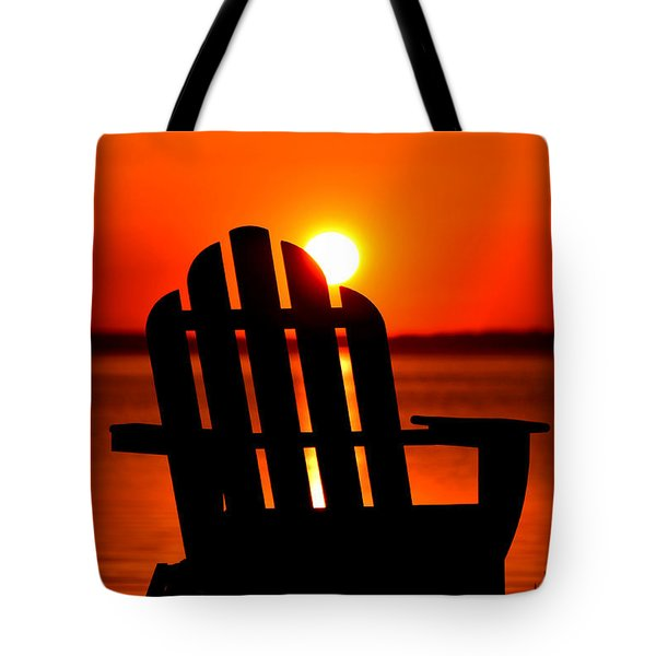 Adirondack Days End Tote Bag