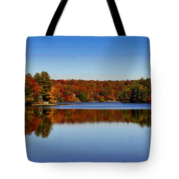 Adirondack October Tote Bag by Diane E Berry