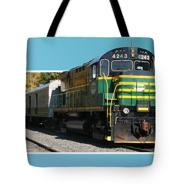 Adirondack Railroad Tote Bag