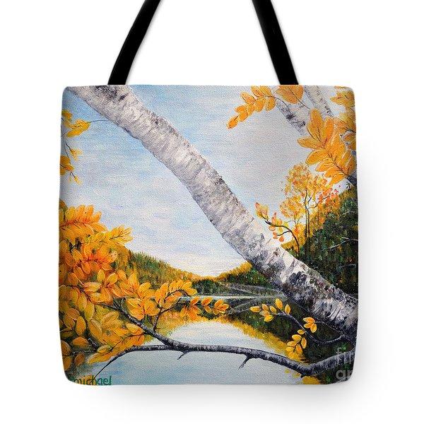Adirondacks New York Tote Bag