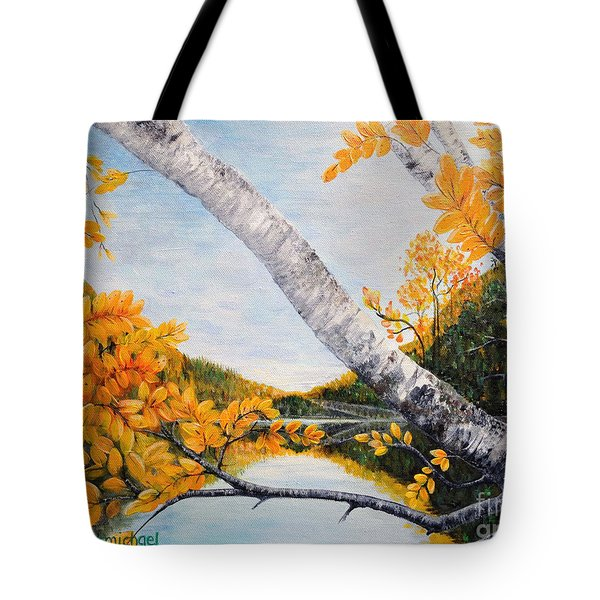 Adirondacks New York Tote Bag
