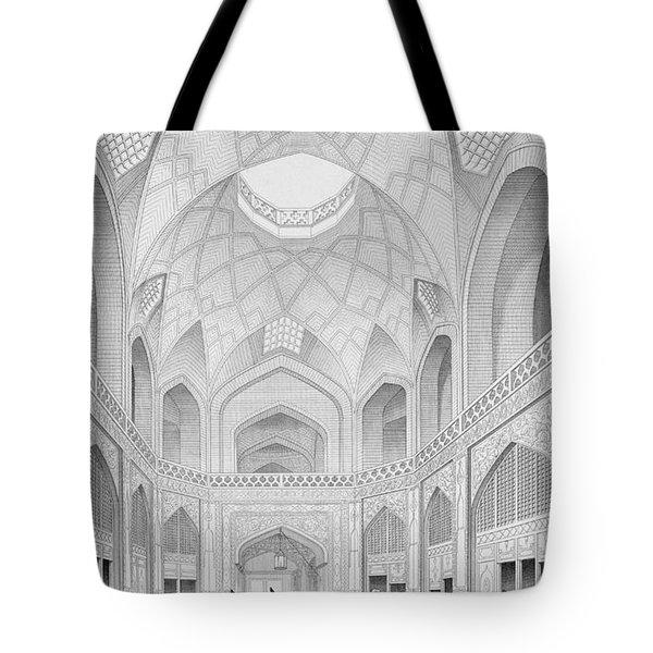 Adji Seid Hussein Bazaar Tote Bag
