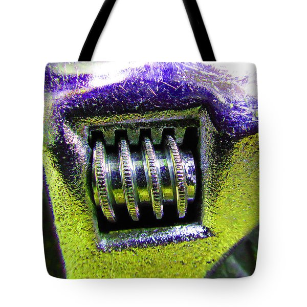 Adjustable Wrench B Tote Bag