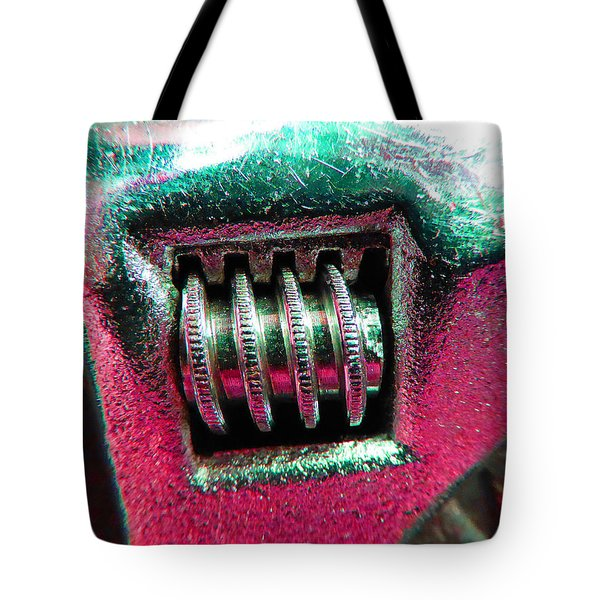 Adjustable Wrench D Tote Bag