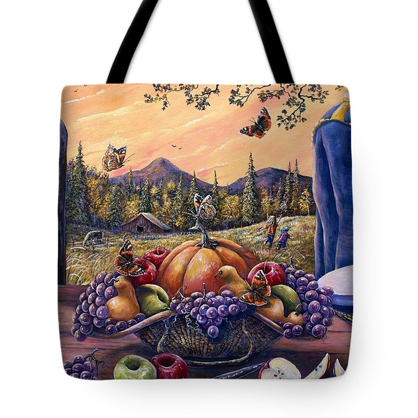 Admirals Harvest Tote Bag