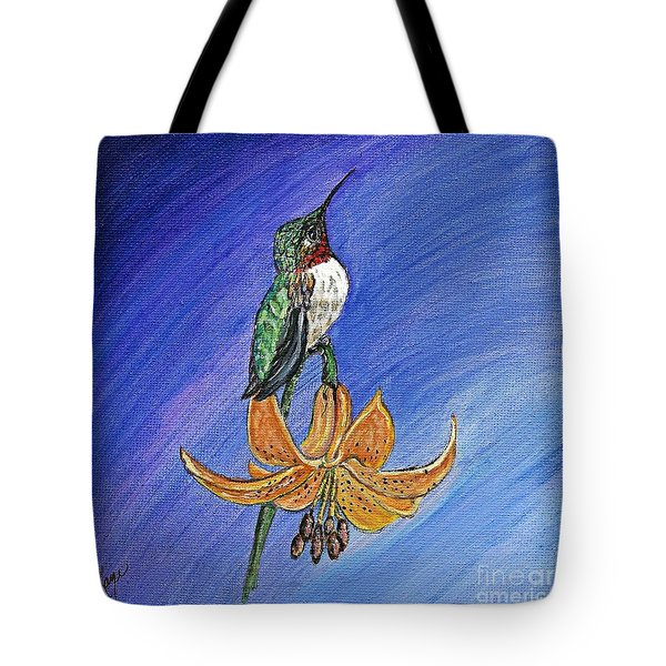Tote Bag featuring the painting Admiration by Ella Kaye Dickey