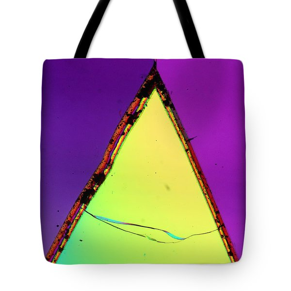 Fractured Faith Tote Bag