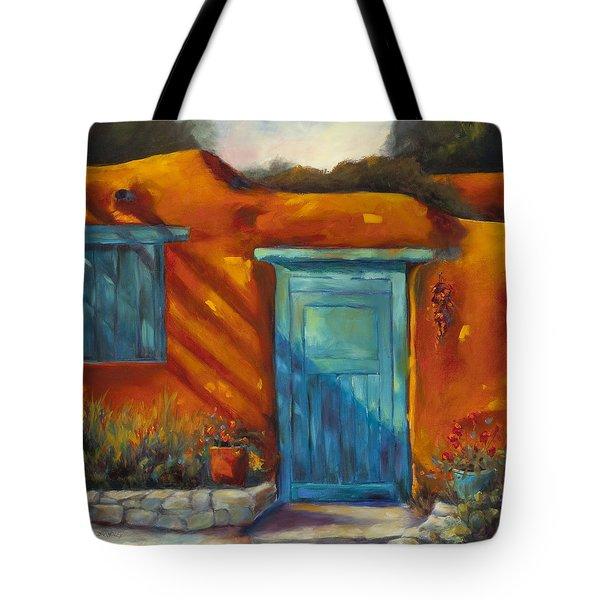 Adobe Charm Tote Bag