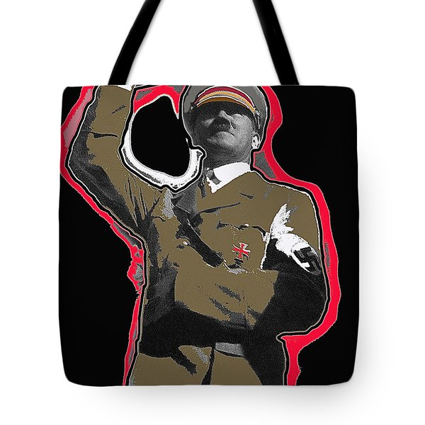 Adolf Hitler Saluting 2 Circa 1933-2009 Tote Bag