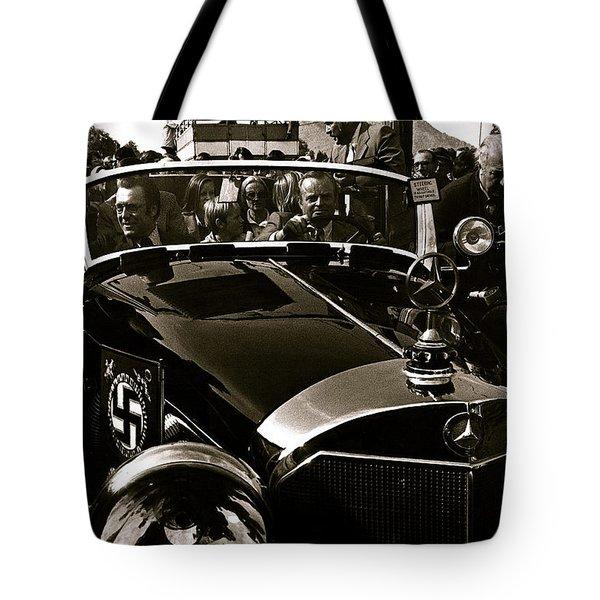 Adolf Hitler's 1941 Mercedes-benz 770-k Touring Car Sold At Auction Scottsdale Arizona 1973 Tote Bag