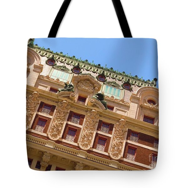 Tote Bag featuring the photograph Adolphus Hotel - Dallas #1 by Robert ONeil