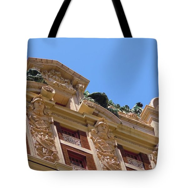 Tote Bag featuring the photograph Adolphus Hotel - Dallas #2 by Robert ONeil