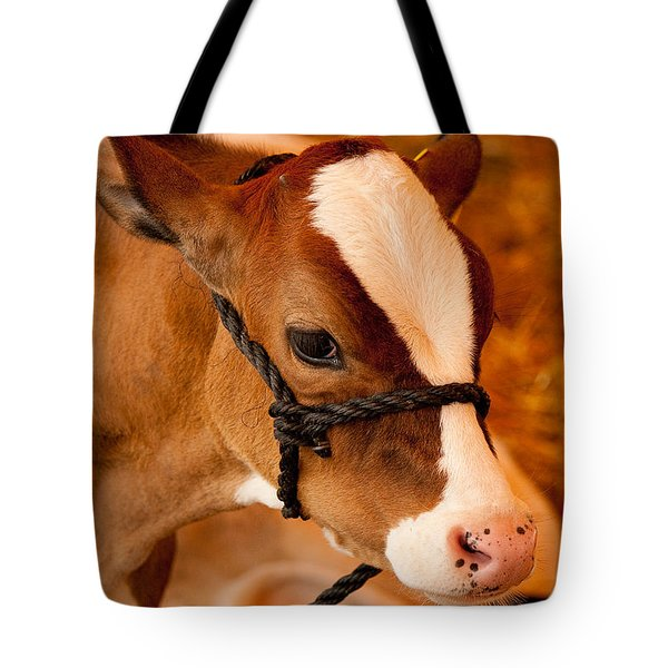 Adorable Calf Tote Bag