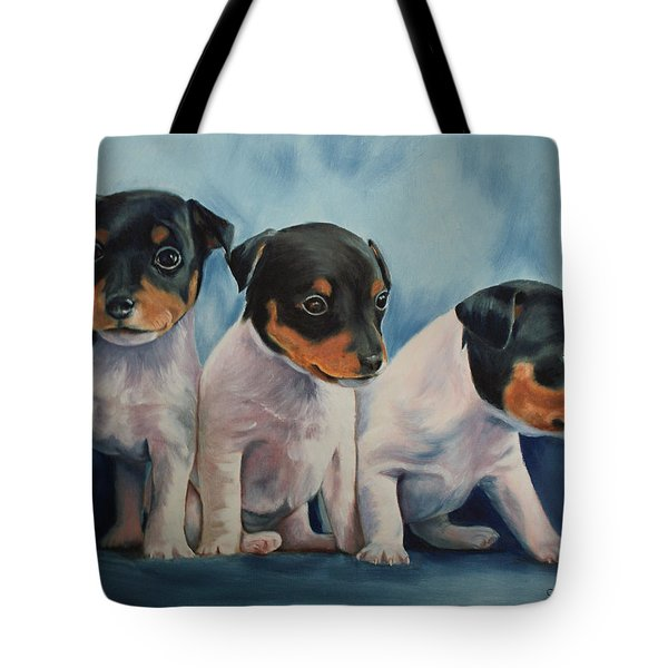 Adorable In Triplicate Tote Bag