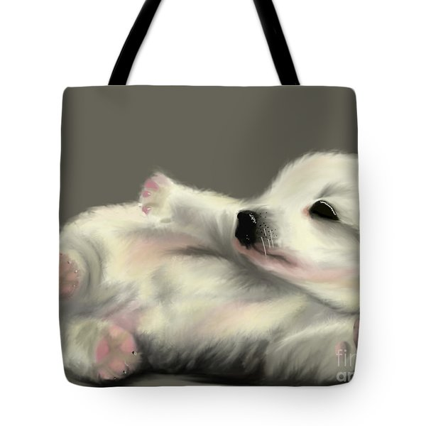 Adorable Pup Tote Bag