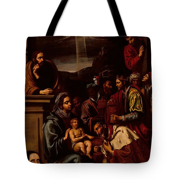 Adoration Of The Magi Tote Bag by Unknown