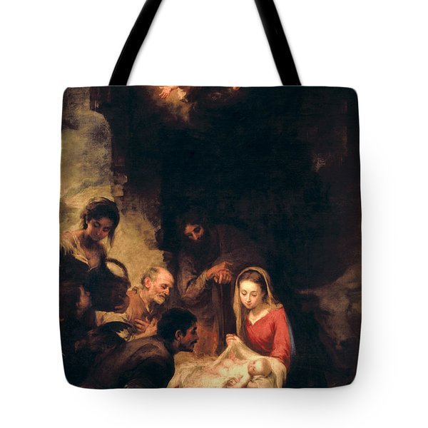 Adoration Of The Shepherds Tote Bag