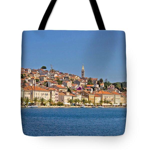 Adriatic Town Of Mali Losinj View From Sea Tote Bag
