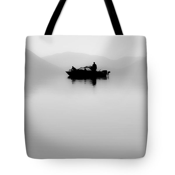Tote Bag featuring the photograph Adrift by Aaron Aldrich