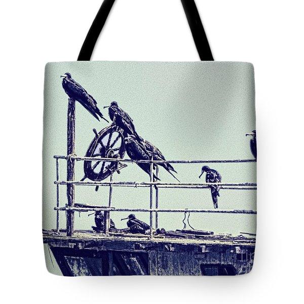 Adrift Tote Bag